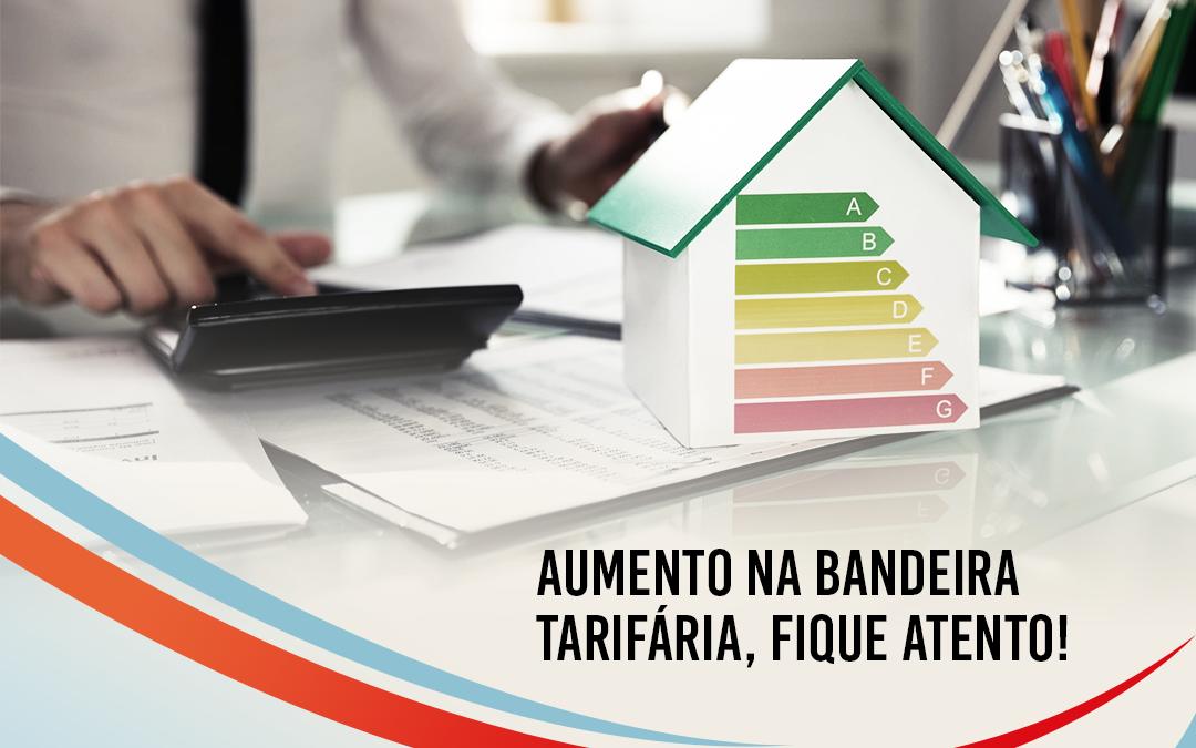 Em agosto a bandeira tarifária vai aumentar, o que seu condomínio tem feito para poupar energia?⠀