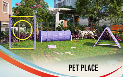 Pet Place no condomínio